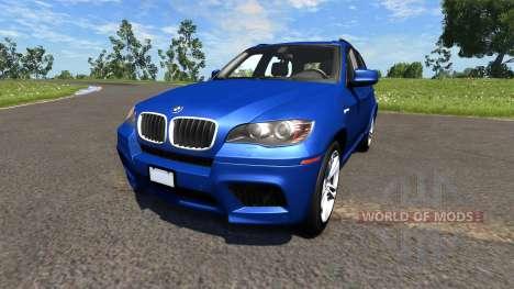 BMW X5M Blue pour BeamNG Drive