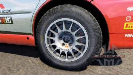 Mitsubishi Lancer Evolution IX 2006 pour BeamNG Drive