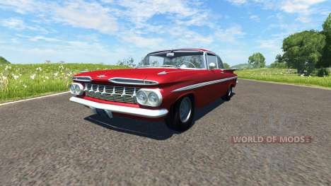 Chevrolet Impala Coupe 1959 pour BeamNG Drive