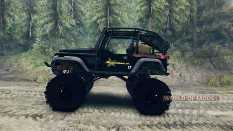 Jeep Wrangler SID pour Spin Tires