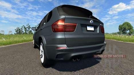 BMW X5M Grey für BeamNG Drive