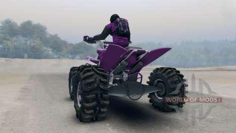 VTT pour Spin Tires