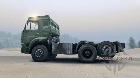 KamAZ-65116 für Spin Tires