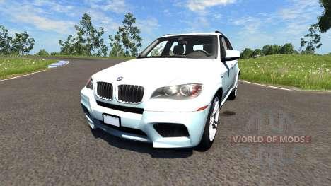 BMW X5M White für BeamNG Drive