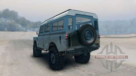 Land Rover Defender Blue pour Spin Tires
