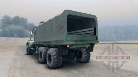Kraz-255B pour Spin Tires