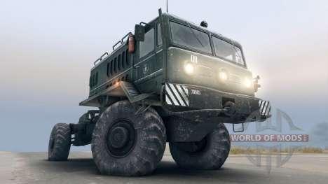 MAZ-535 4x4 pour Spin Tires