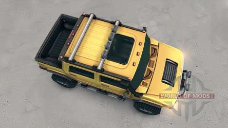 Hummer H2 SUT pour Spin Tires