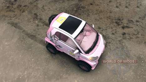 Mercedes Smart ForOne Supercharge 1 für Spin Tires