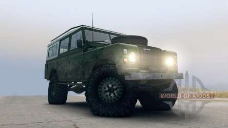 Land Rover Defender Green pour Spin Tires