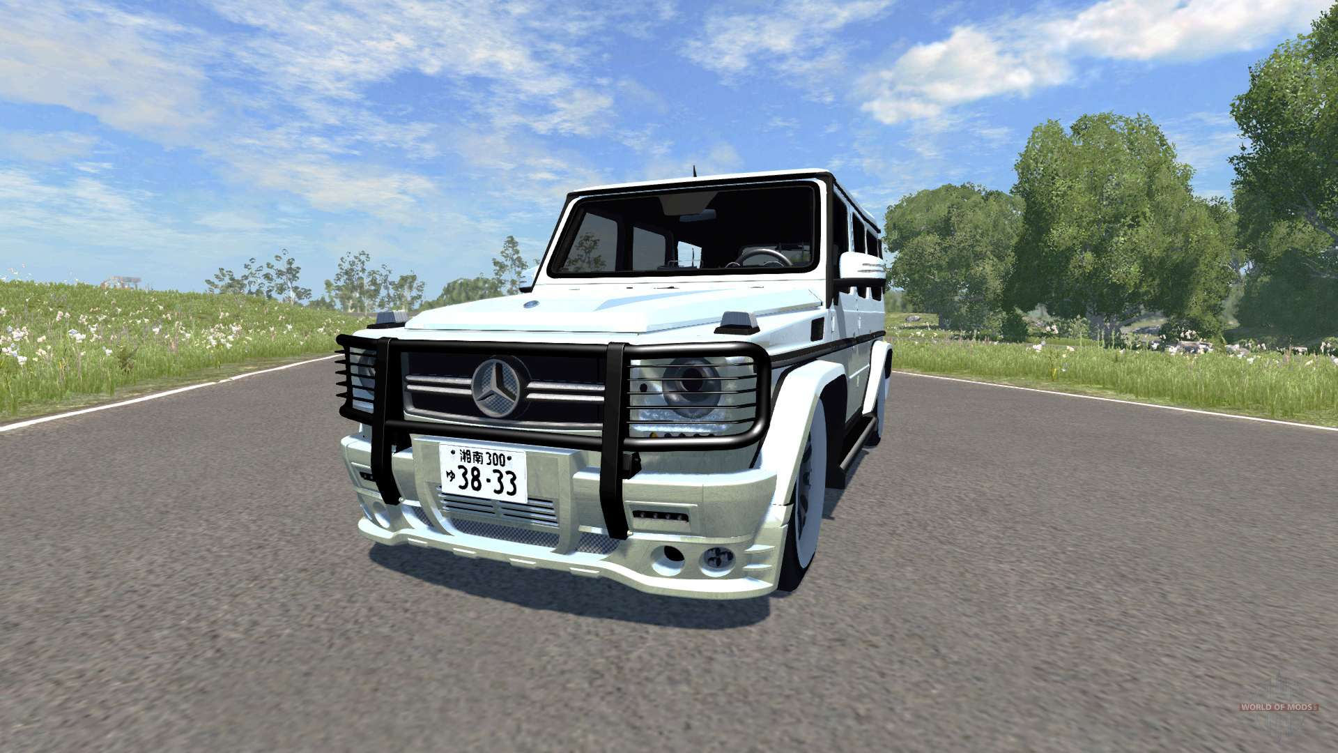Mercedes benz g65 pour beamng drive for Mercedes benz route 22