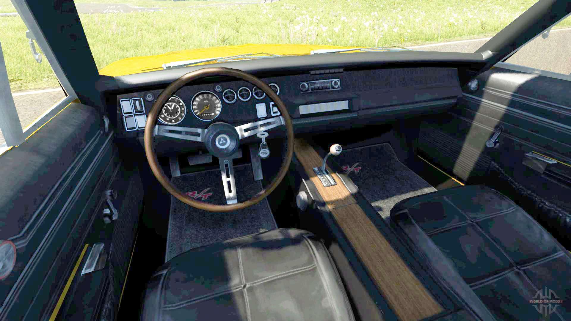Dodge Charger Rt 1970 F 252 R Beamng Drive