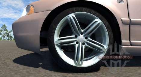 Audi S4 2000 [Pantone 7513 C] für BeamNG Drive