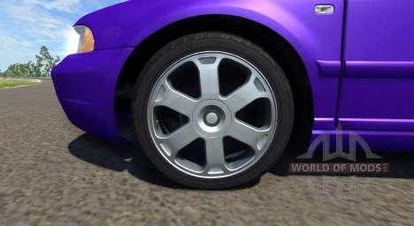 Audi S4 2000 [Pantone Violet C] pour BeamNG Drive