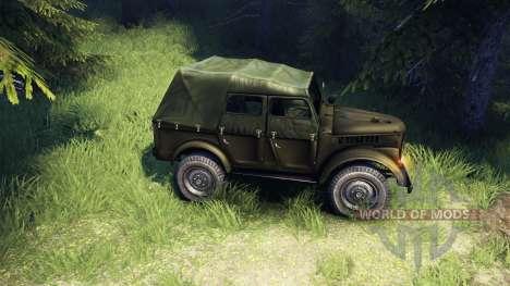 GAZ-69A für Spin Tires