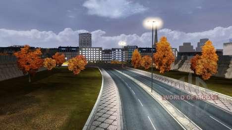Automne pour Euro Truck Simulator 2