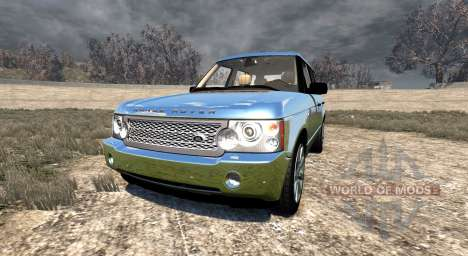 Range Rover Supercharged 2008 [Chrome] pour BeamNG Drive