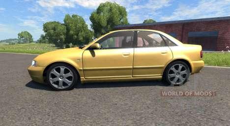 Audi S4 2000 [Pantone 804 C] für BeamNG Drive