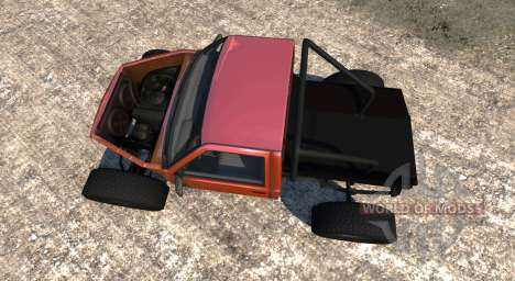 Gavril D-Series Truggy pour BeamNG Drive