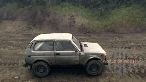 VAZ Niva 2121 v1.0 pour Spin Tires