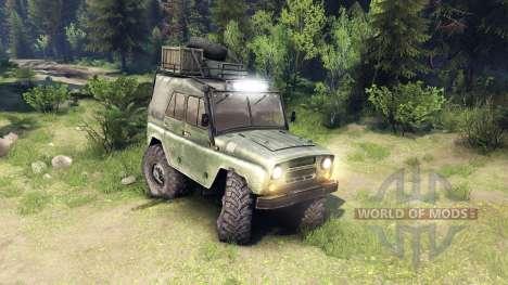 Der UAZ-469 Fahrzeug für Spin Tires