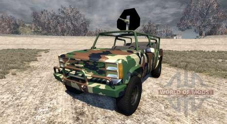 Gavril D-Series African Rebel für BeamNG Drive