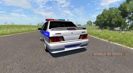 VAZ-2115 Polizei für BeamNG Drive