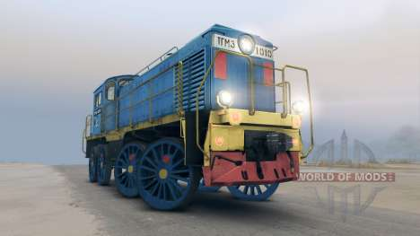 Lok TGM für Spin Tires