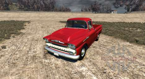 Chevrolet Apache 1958 Fleetside für BeamNG Drive