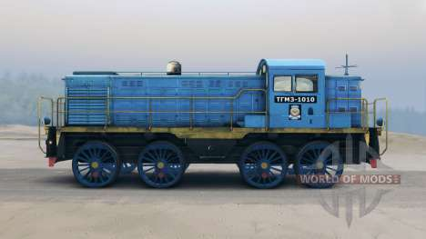 Locomotive TGM pour Spin Tires
