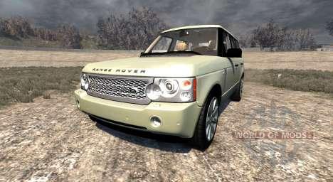 Range Rover Supercharged 2008 [Beige] für BeamNG Drive