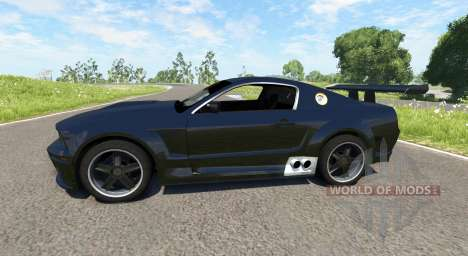 Ford Mustang GT-R Concept für BeamNG Drive