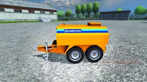 Bowser Chef pour Farming Simulator 2013