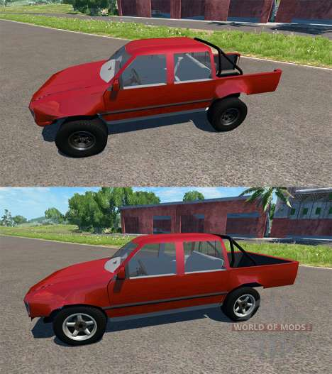 Toyota Hilux pour BeamNG Drive