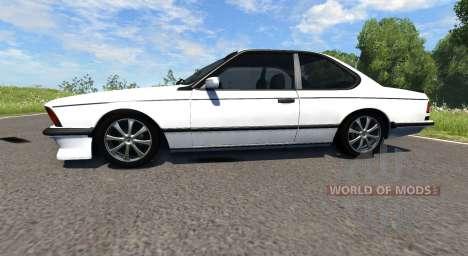 BMW E24 M6 pour BeamNG Drive