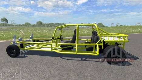 VW Rail Buggy für BeamNG Drive