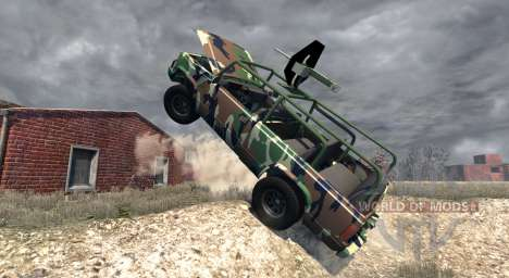 Gavril D-Series African Rebel pour BeamNG Drive