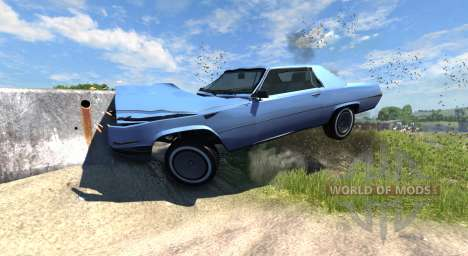 Manana (Grand Theft Auto V) für BeamNG Drive