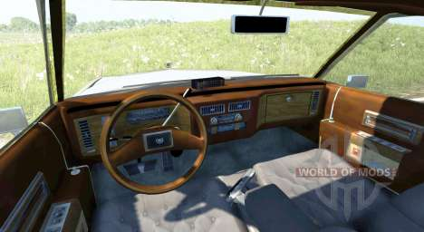 Cadillac De Ville 1984 pour BeamNG Drive
