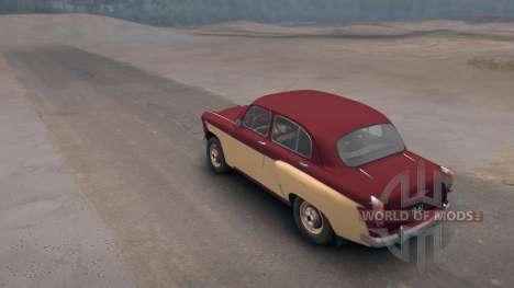 Moskwitsch 407 für Spin Tires