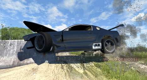 Ford Mustang GT-R Concept pour BeamNG Drive