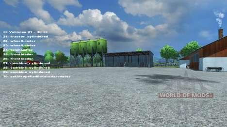 FastSwitcher v1.3 pour Farming Simulator 2013