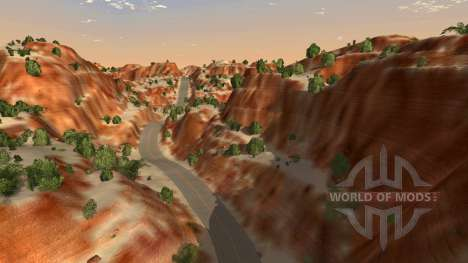 Lage Canyon für BeamNG Drive