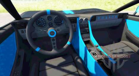 Civetta Bolide Tron pour BeamNG Drive