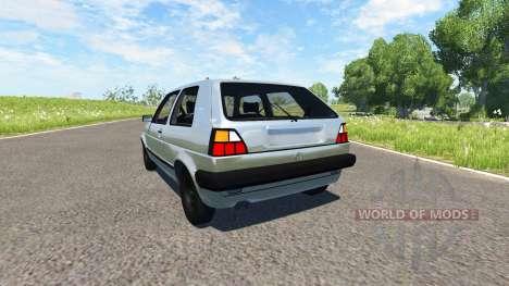 Volkswagen Golf Mk2 GTI 1987 pour BeamNG Drive
