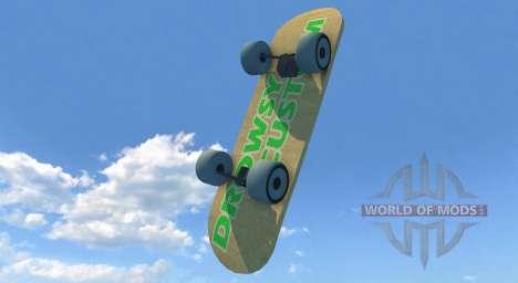 Planche à roulettes pour BeamNG Drive
