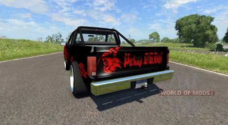 Gavril D-Series DRAG pour BeamNG Drive
