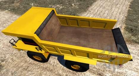 Dumper Minero pour BeamNG Drive