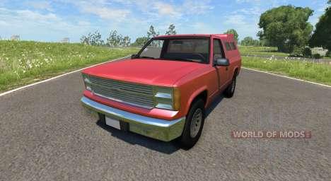 Gavril D-Series Pickup Hatch für BeamNG Drive