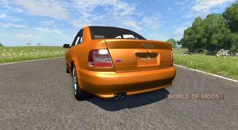 Audi S4 2000 [Pantone 718 C] für BeamNG Drive
